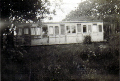 An old LNER carriage known as 'The Bungalow'