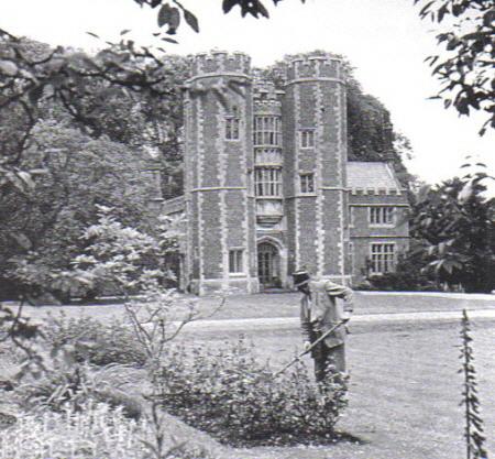 Kirtling Towers Gardener