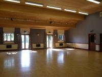 Kirtling Village Hall interior